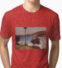Holiday Sketch at Coogee 1888 Tom Roberts Tri-blend T-Shirt