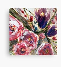 Summer Flower Bunch Canvas Print