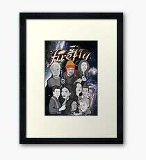 Firefly crew collage Framed Print