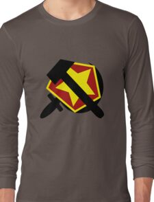 HAMMER  SICKLE AND RED STAR Long Sleeve T-Shirt