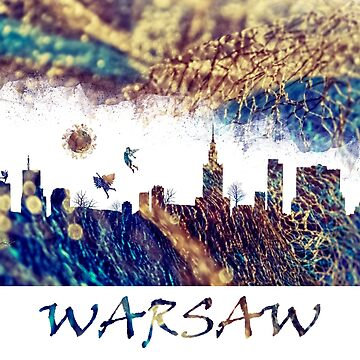 Warsaw Poland by JBJart