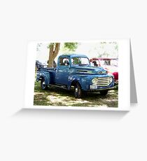 1948 Ford Pick Up Truck Greeting Card