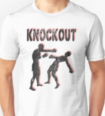 Knockout Male Boxers T-Shirt