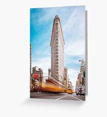 New York Flatiron Building Grußkarte