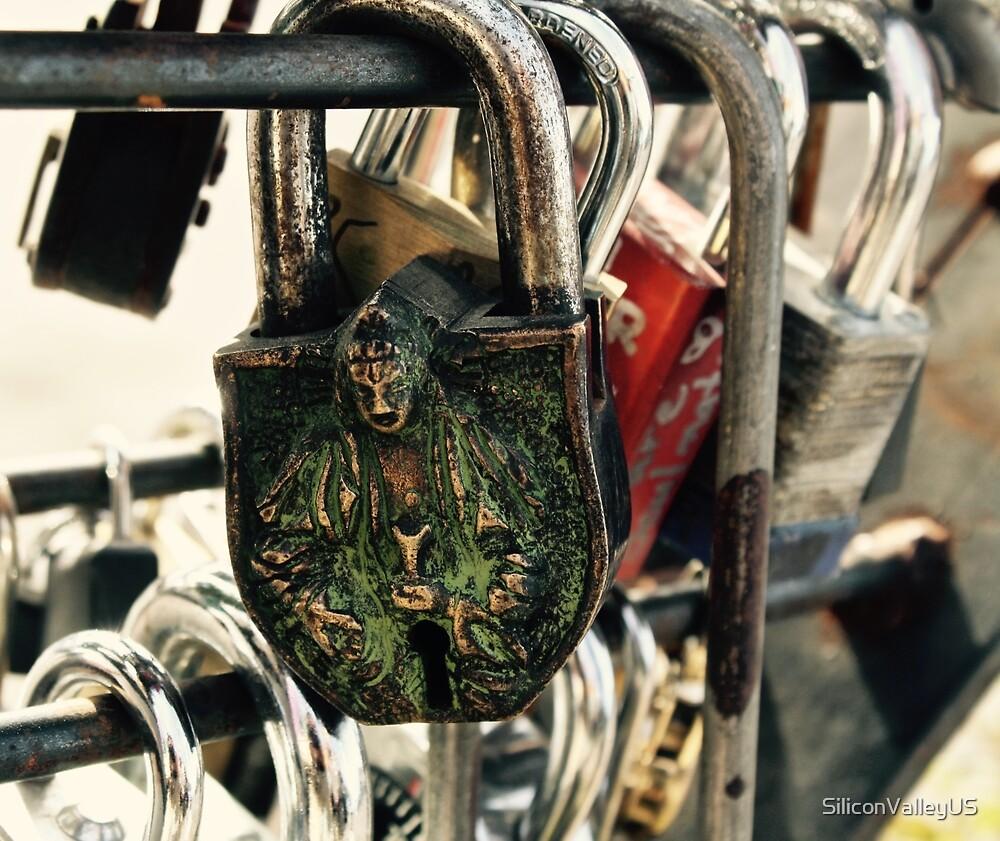 Buddha Love Lock Padlock by SiliconValleyUS