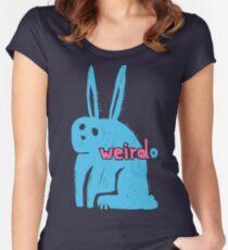 Weirdo Women's Fitted Scoop T-Shirt