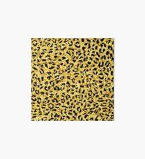 Leopard seamless pattern. Animal print.  Art Board