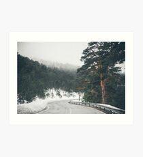 Oblivion Road Art Print