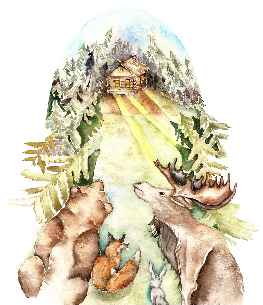 Forest Animals by Goosi
