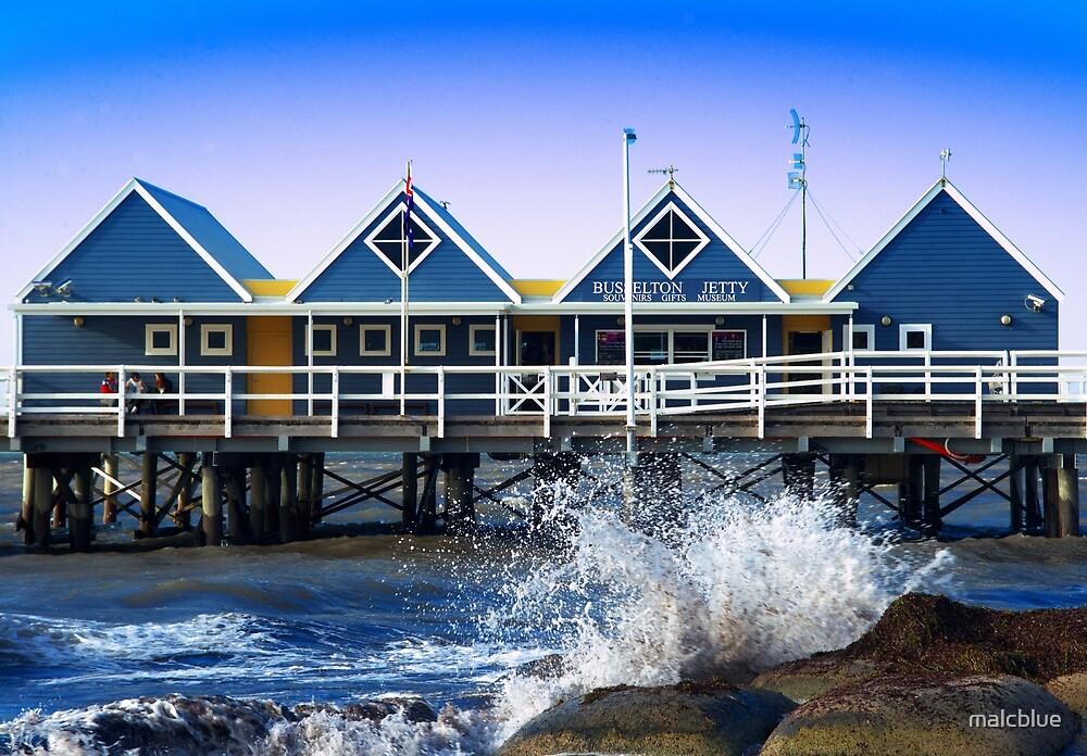 Busselton Jetty, Western Australa by malcblue