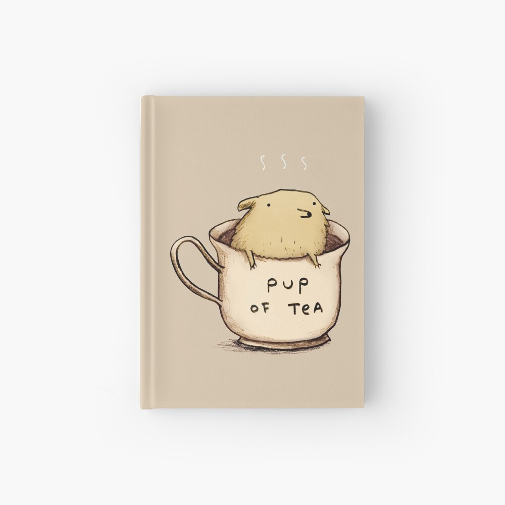 Pup of Tea Cuaderno de tapa dura