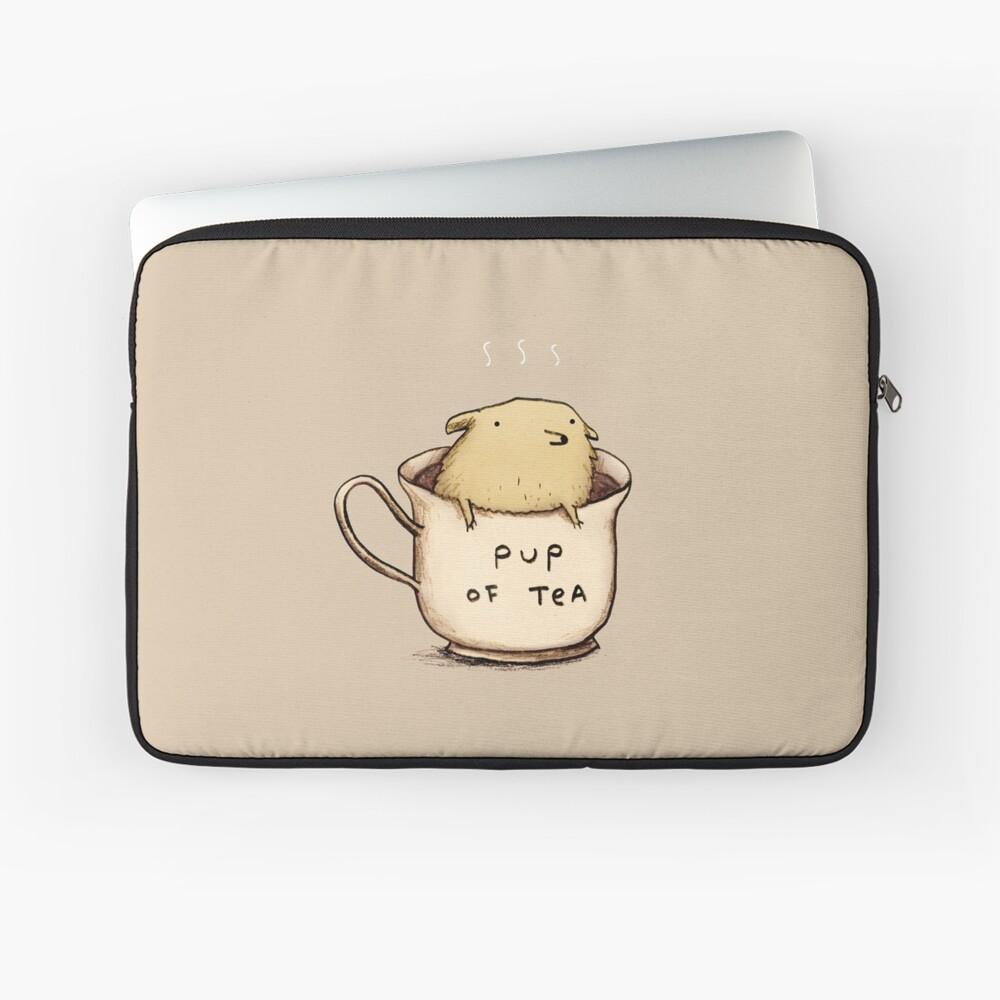 Pup of Tea Funda para portátil
