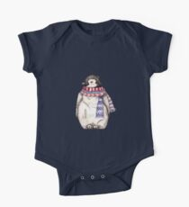 Baby Penguin in a Festive Scarf Kids Clothes