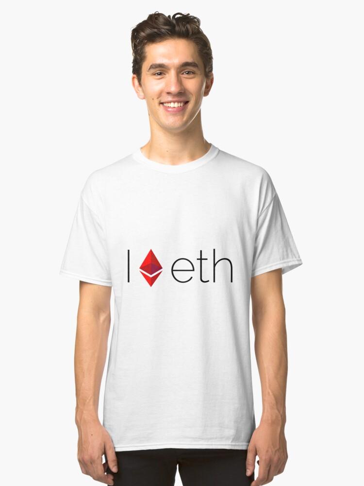 I Heart ETH Classic T-Shirt Front