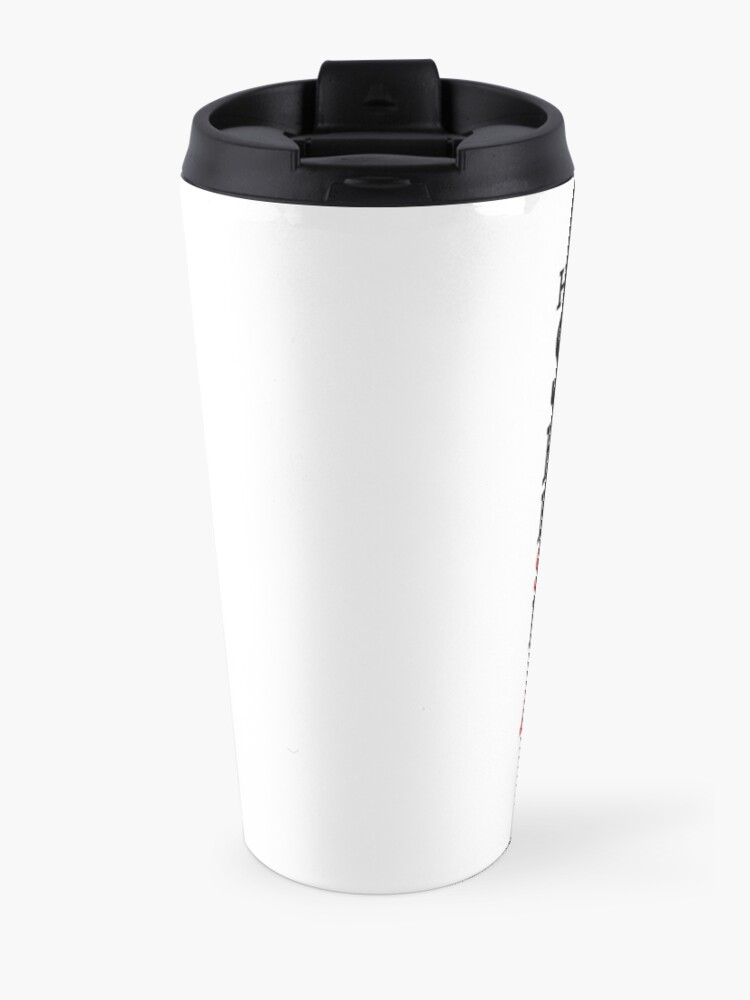 Alternate view of Fire Is Our Only Defense Travel Mug