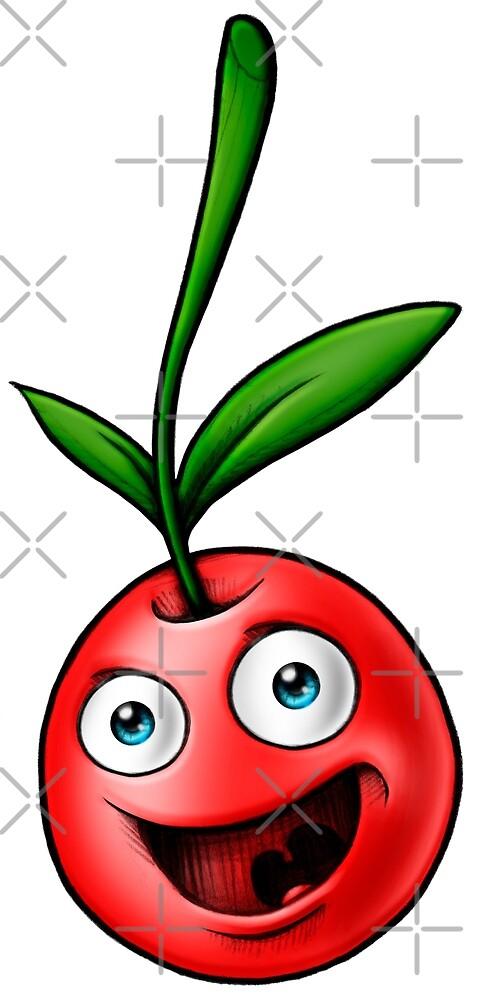Cherry healthy vegan by Delpieroo