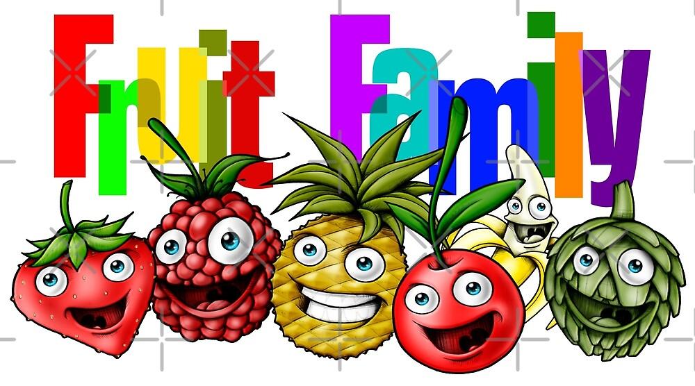 Fruit Family  by Delpieroo