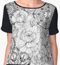Mandala Flower Women's Chiffon Top