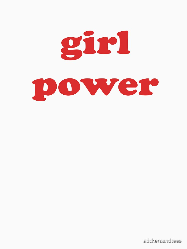 Female Power T-Shirt - Girl Power Female Rights Human Gender Equality by stickersandtees