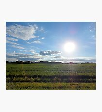 Countryside Landscape in the United States of America Photographic Print