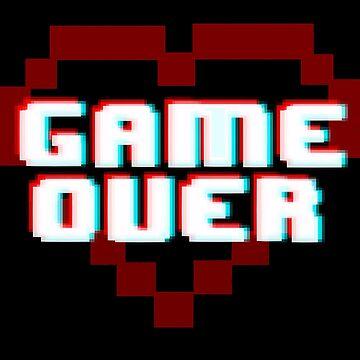GAME OVER by aartliner
