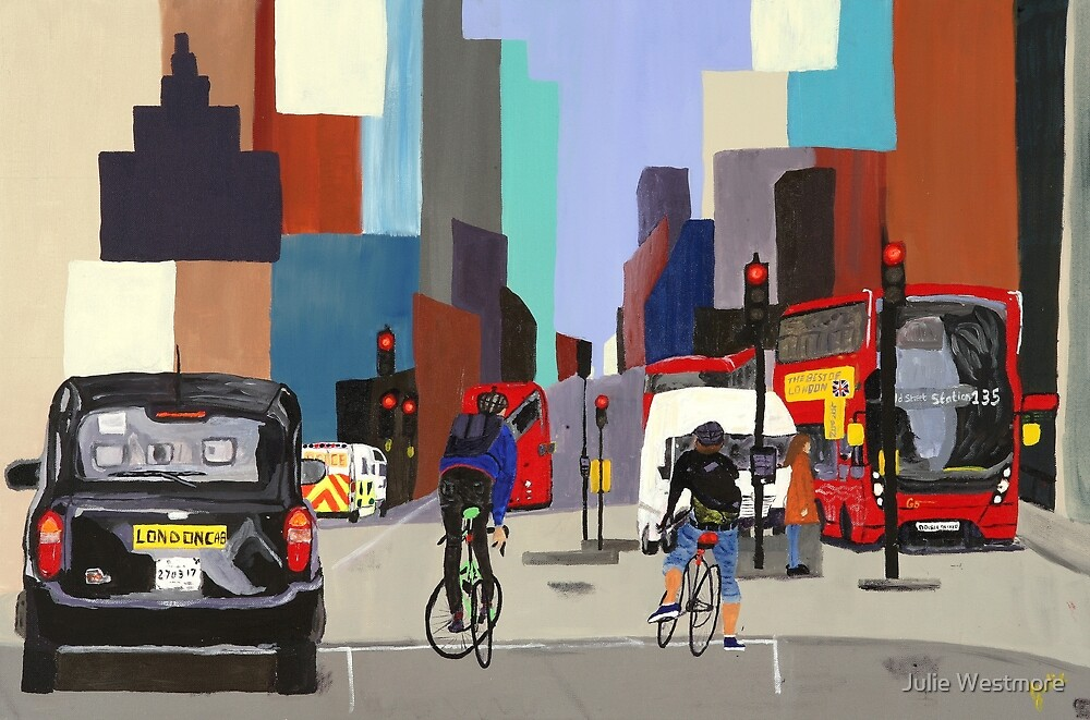 London Cityscape by Julie Westmore