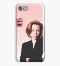 Dana Scully Little But Fierce iPhone Case iPhone Case/Skin