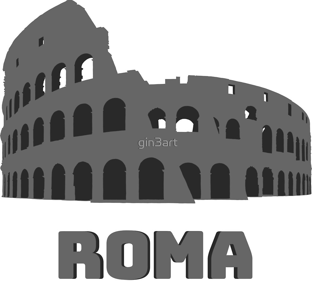 Roma Colosseum by gin3art