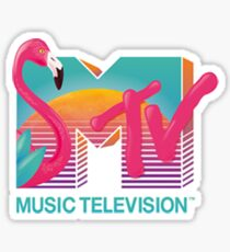 Flamingo MTv Sticker