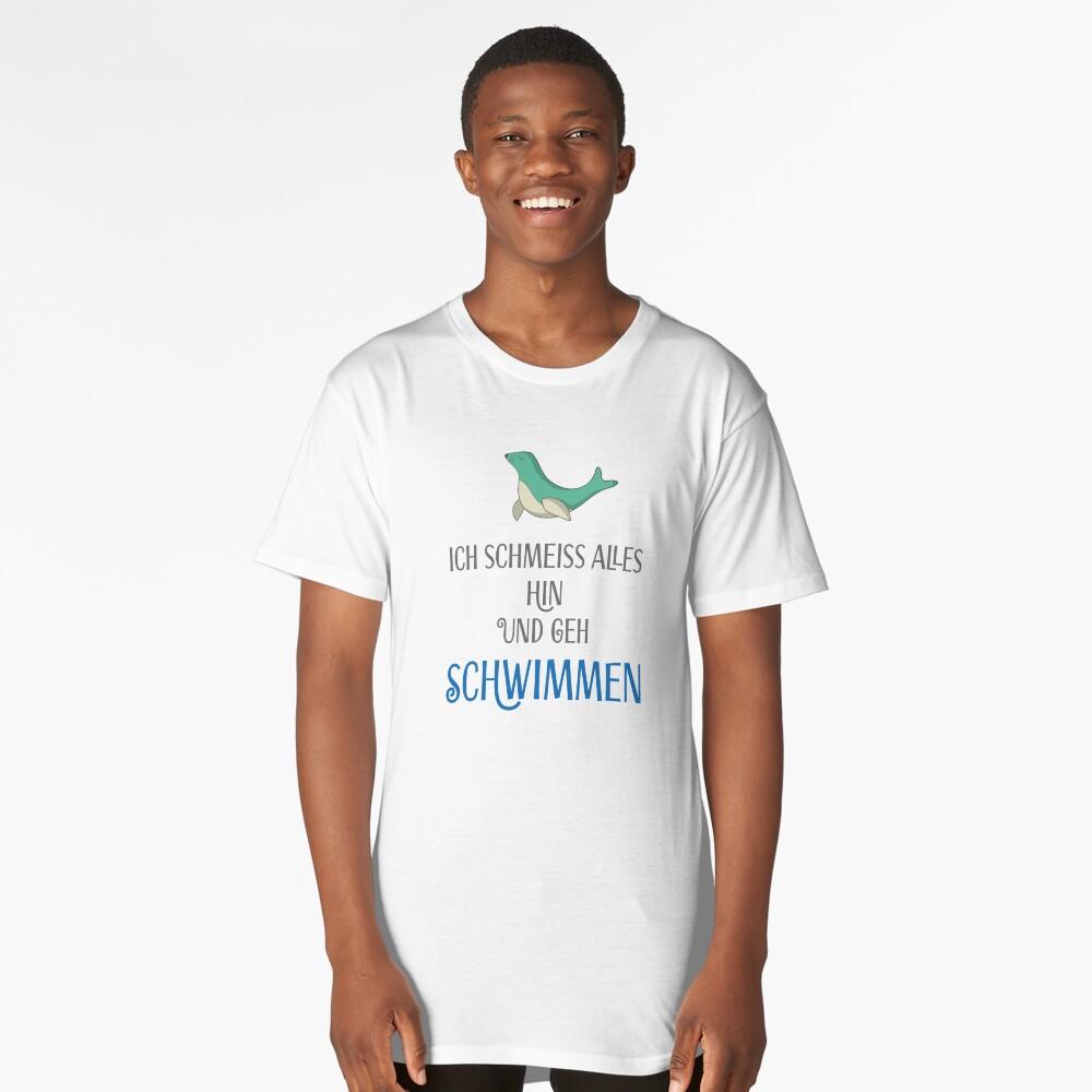 swim Long T-Shirt Front