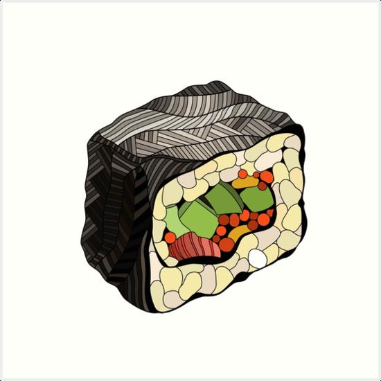 Sushi-Abbildung von LidiaP