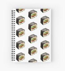 Sushi illustration Spiral Notebook
