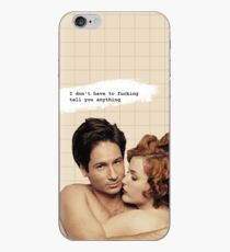 Gillian Anderson and David Duchovny Phone Case iPhone Case