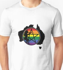 PAN Supports Marriage Equality Unisex T-Shirt