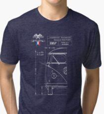 Camiseta de tejido mixto Combi Blueprint