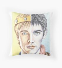 """Two sides of the same coin"" Throw Pillow"