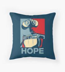Trust in Wall-e  Throw Pillow