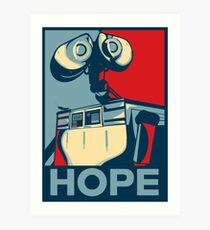 Trust in Wall-e  Art Print