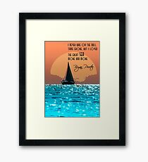 The Great Sea Framed Print