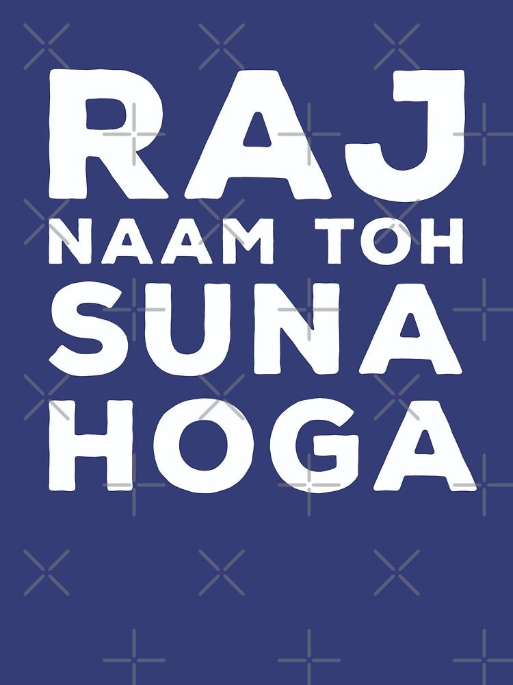 RAJ Naam Toh Suna Hoga - SRK by GoldyMaster07