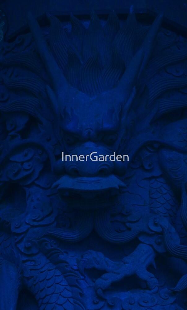 Blue dragon by InnerGarden