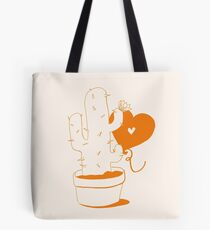 Cactus and Balloon Tote Bag