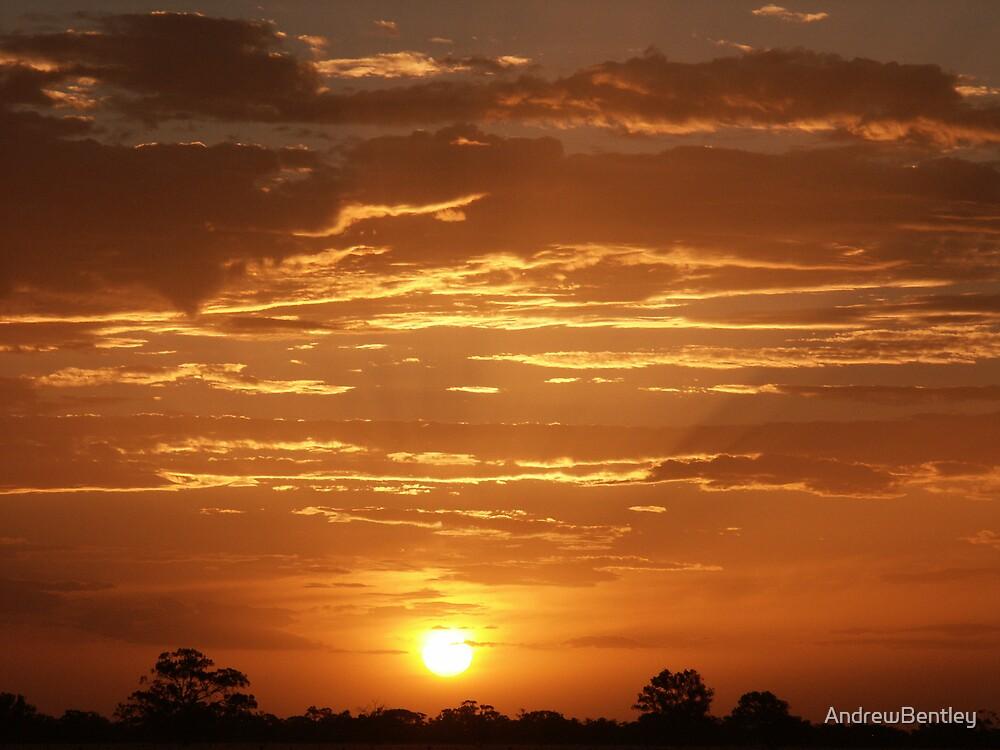 Deni Sunset #068 by AndrewBentley