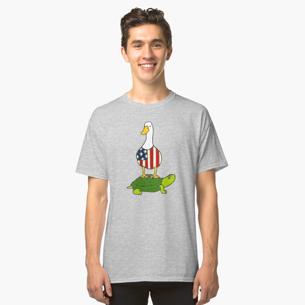 Turtle and Duck Classic T-Shirt Front
