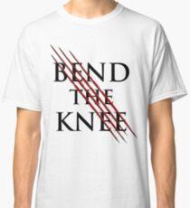 Bend The Knee Lord shirt, dragon tshirt, sword tee Classic T-Shirt