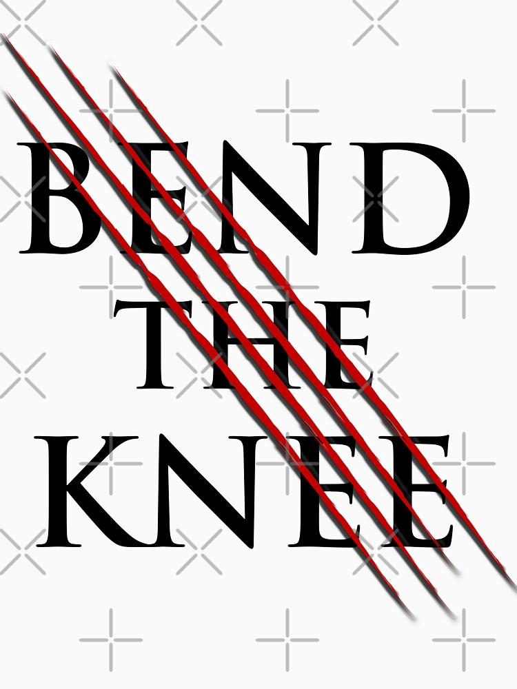 Bend The Knee Lord shirt, dragon tshirt, sword tee by WeeTee