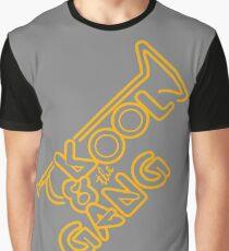KOOL & THE GANG (YELLOW) Graphic T-Shirt