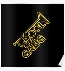 KOOL & THE GANG (YELLOW) Poster