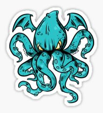 Angry Tentacles Sticker