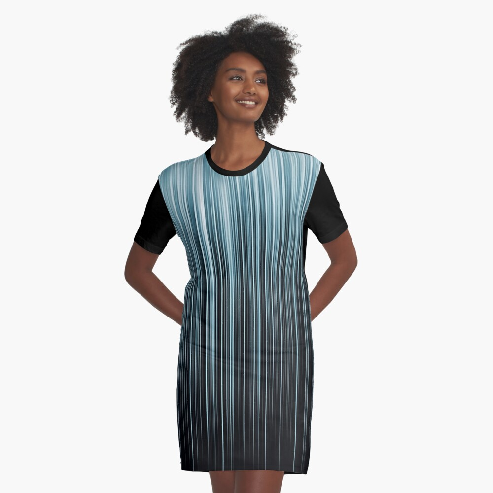 Light features Graphic T-Shirt Dress Front
